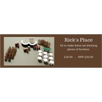 Rick's Place Set Dressings