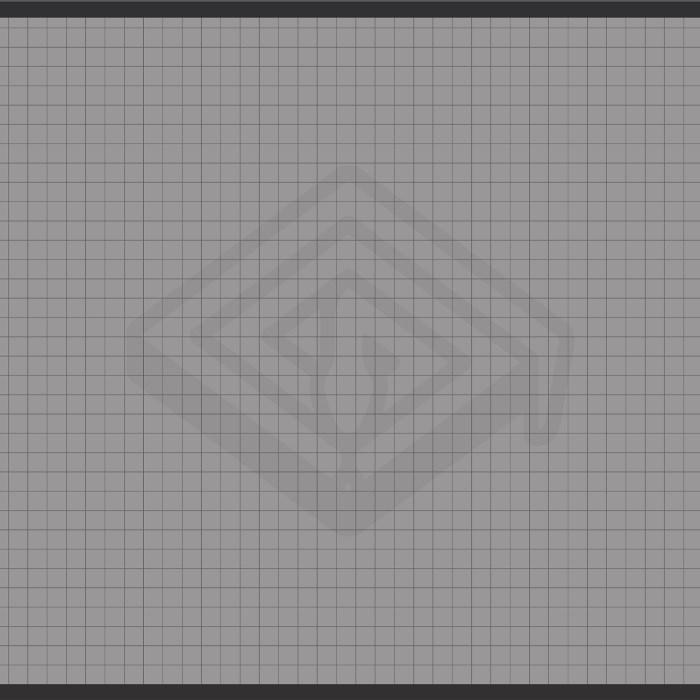 1 Inch Grid 92x183