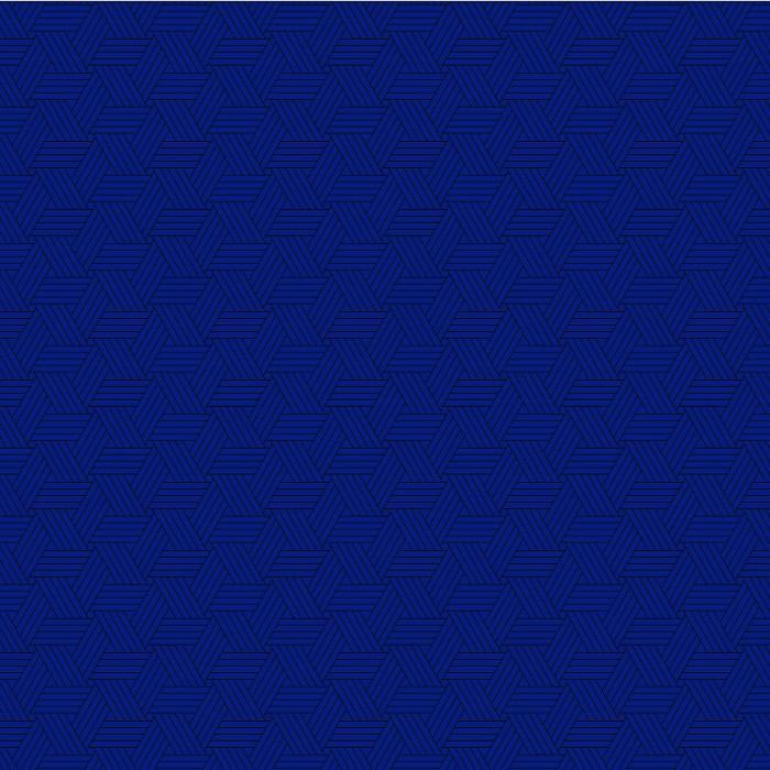 Tri-Pattern Blue 97x153