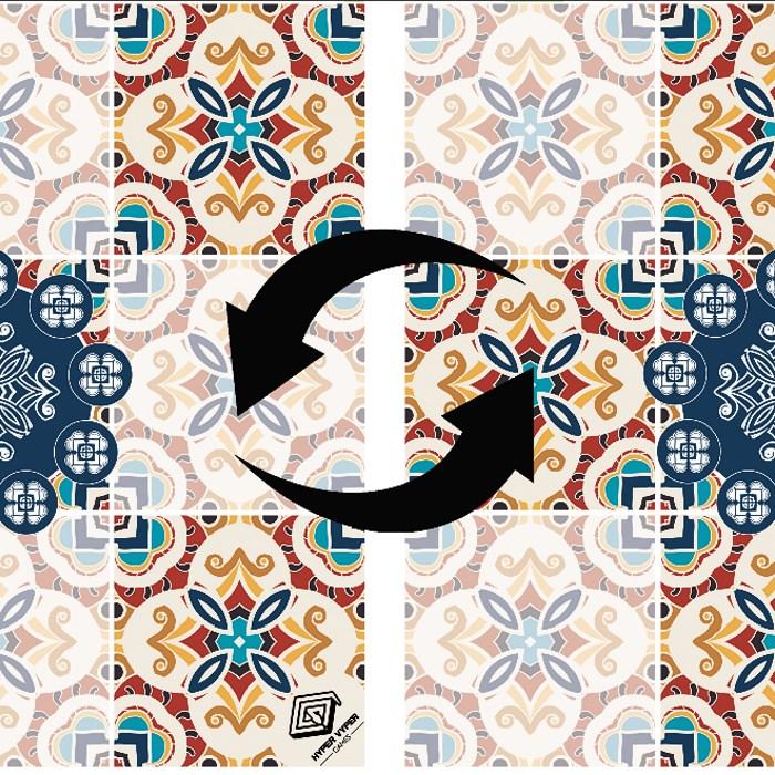 Mosaic - Double Sided 90cm x 90cm