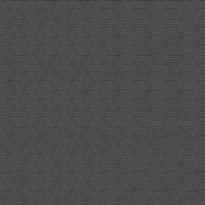 Tri-Pattern Grey 97x153