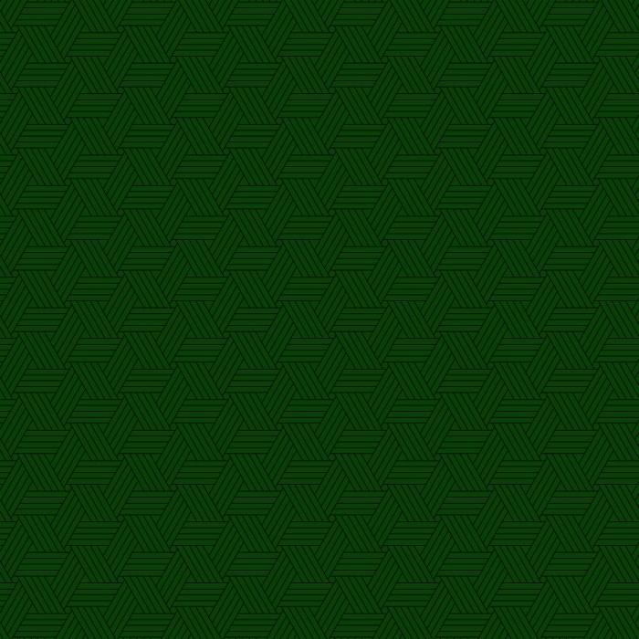 Tri-Pattern Green 90x120