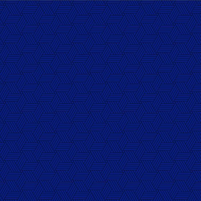 Tri-Pattern Blue 92x183