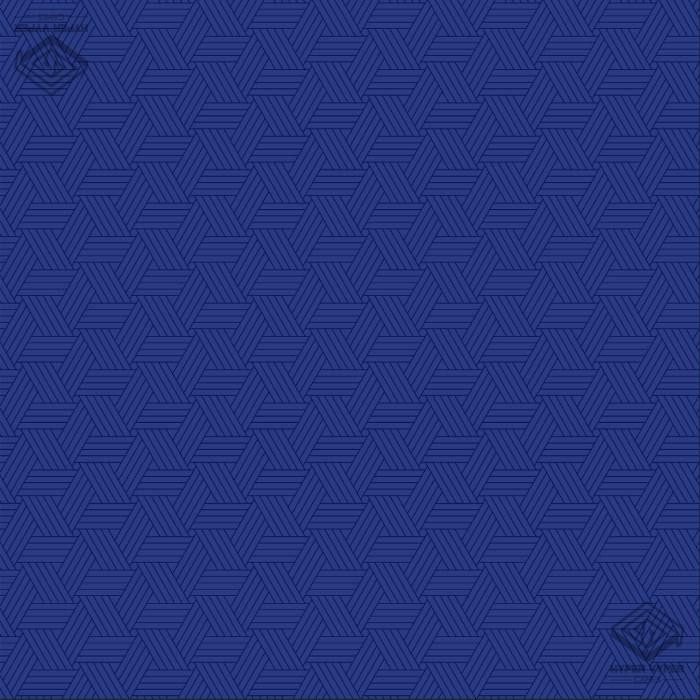 Tri-Pattern Blue 90x90