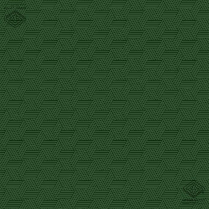 Tri-Pattern Green 90x90