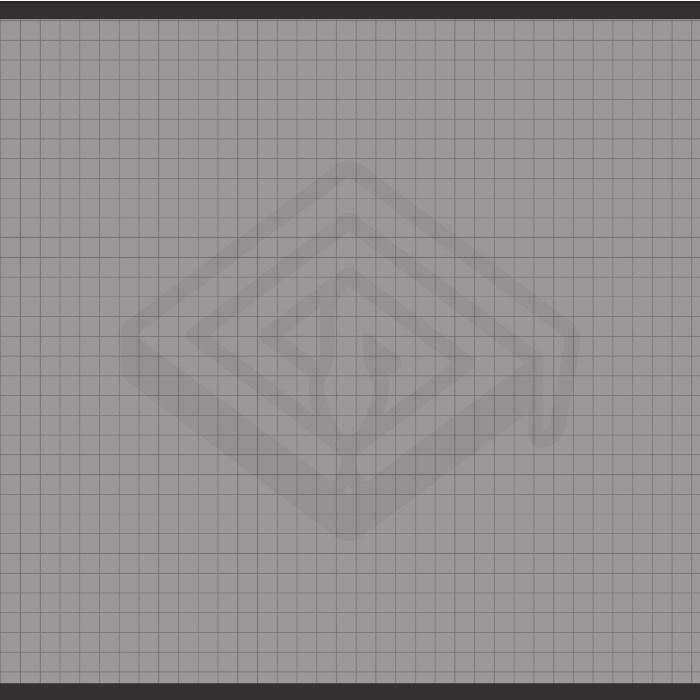 1 Inch Grid 90x120