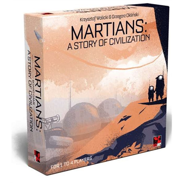 MARTIANS: A STORY OF CIVILIZATION - RETAILER EDITION