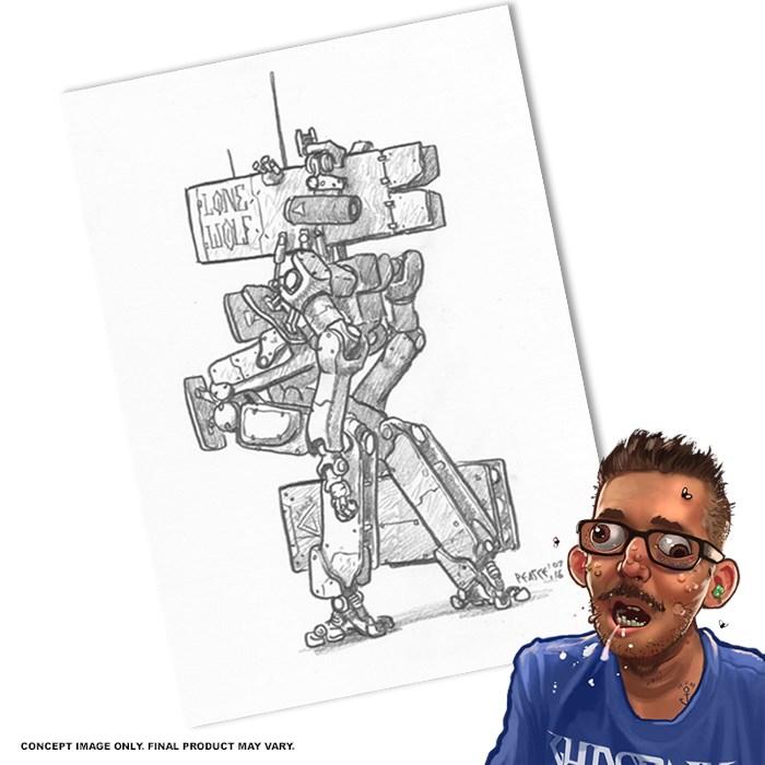 Original Robot Sketch