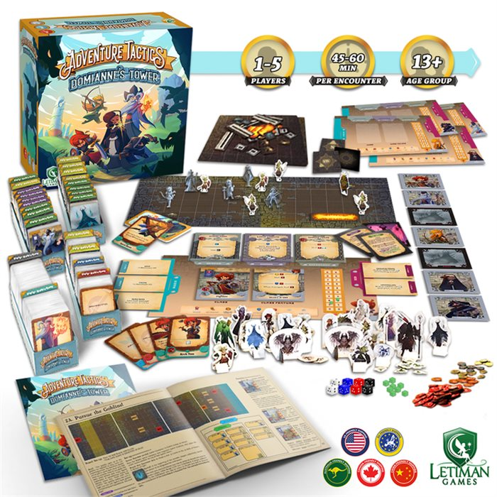 Adventure Tactics Base Game
