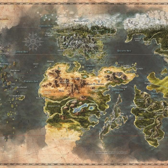 Map of Eana