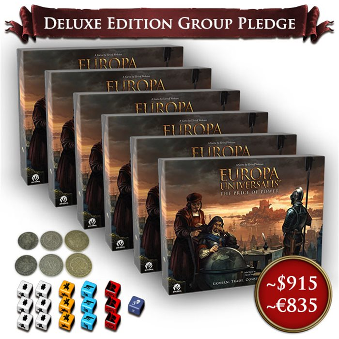 6 KS Deluxe Edition copies + Metal Coins and Extra Dice