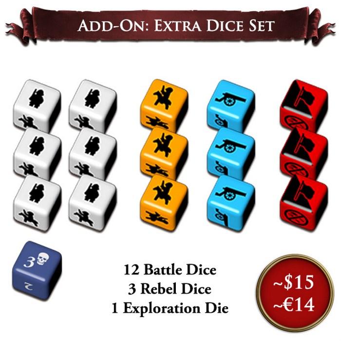 Extra Dice Set Add-on