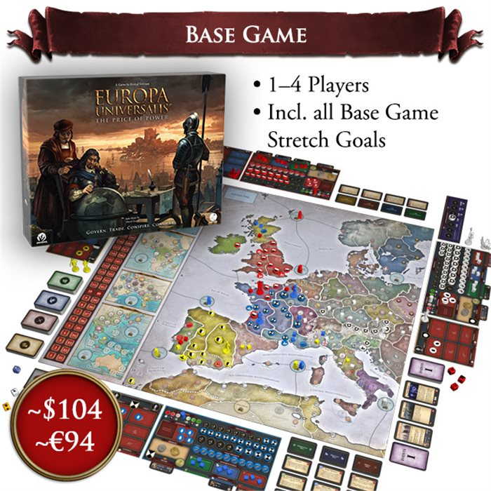 Base Game (ENGLISH VERSION) Late Pledge