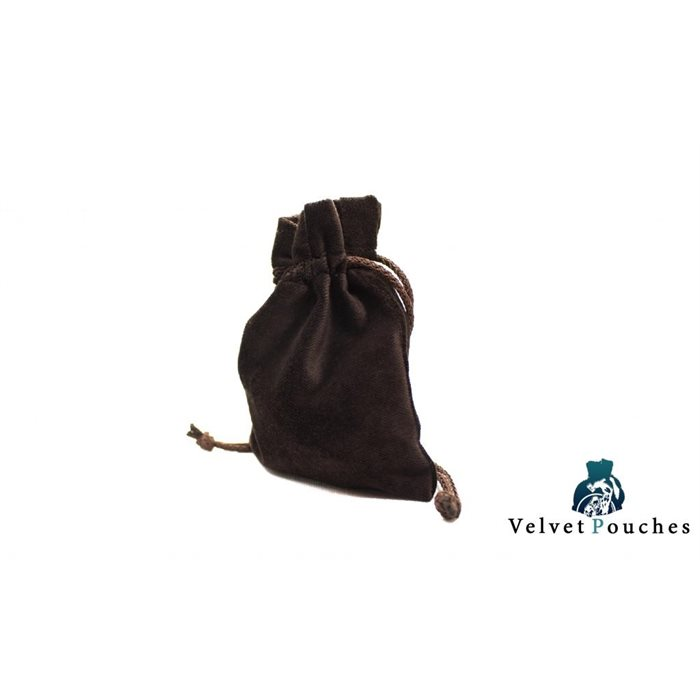 Legendary Velvet Pouches - Brown