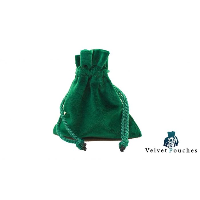 Legendary Velvet Pouches - Green