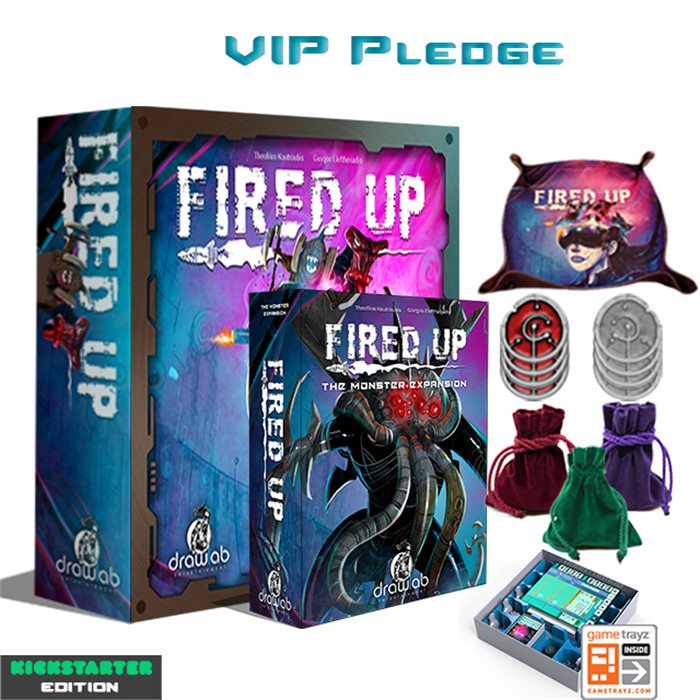 Fired Up - Painted Miniatures - Luxury VIP