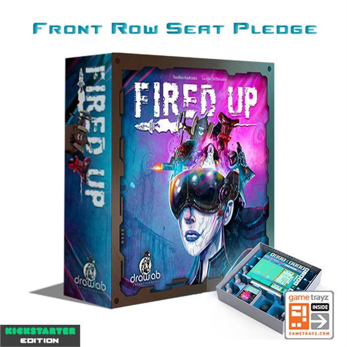 Fired Up - Painted Miniatures - Luxury Front Row Seat