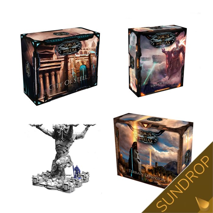 Lords of Hellas Expansions bundle (Sundrop)