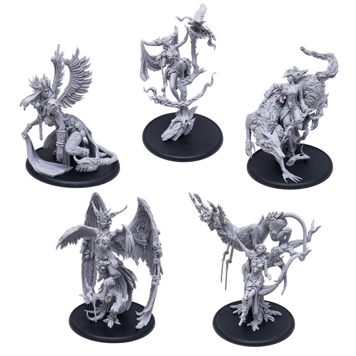 Etherfields Resin models bundle