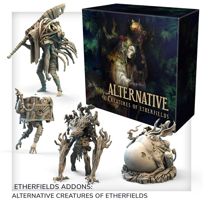Alternative Creatures of Etherfields