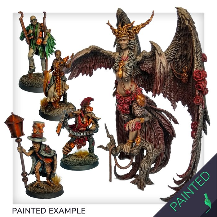 Core Box + Stretch Goals painted