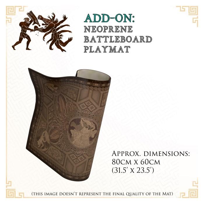 Battle Board Mat