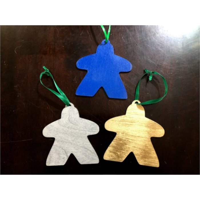 4 Meeple Ornaments