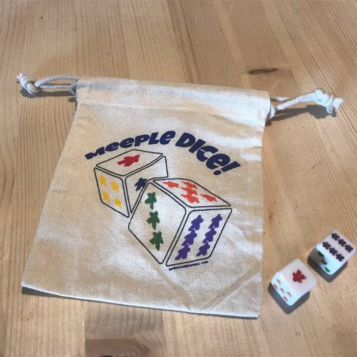 2 - D6 Dice with Dice Bag