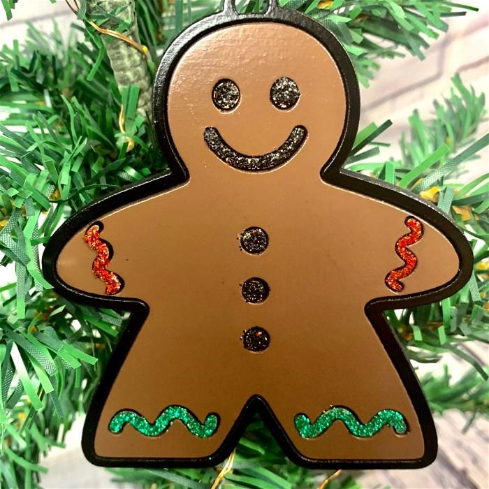Meeple Gingerbread Man Ornament