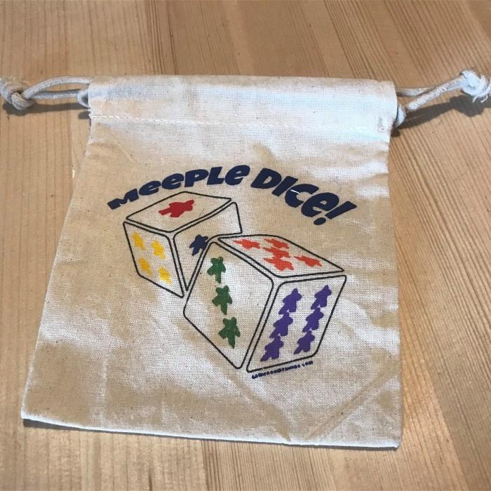Meeple Dice Bag