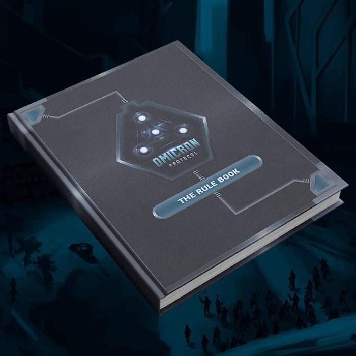 Omicron Protocol Art & Story Book