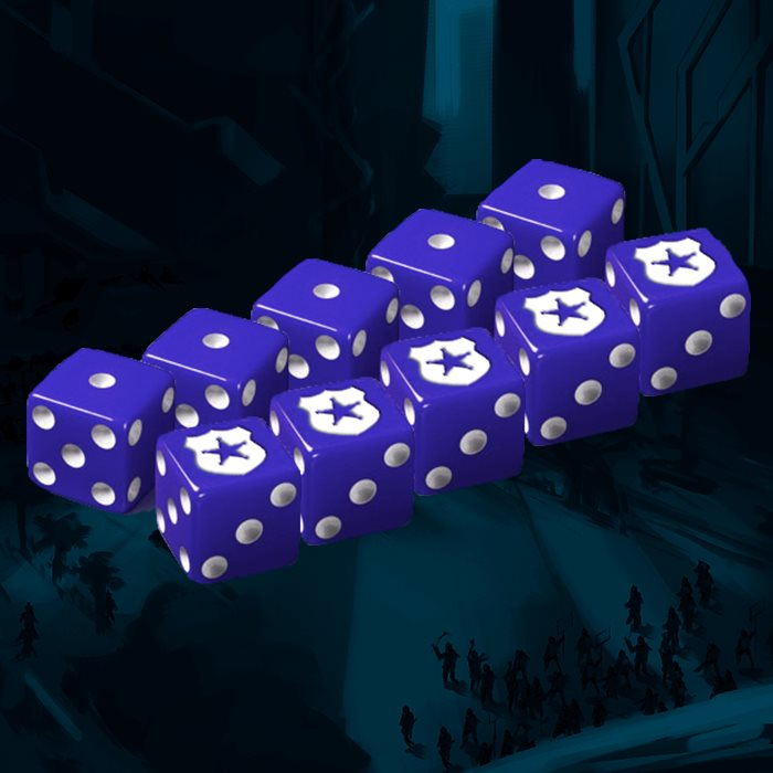 Peacemakers Faction Dice