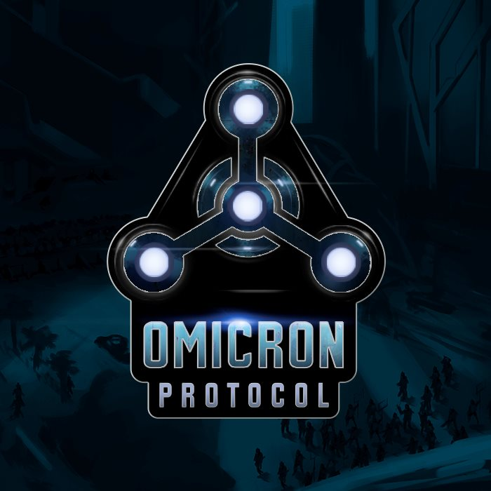 Omicron Protocol Enamel Pin - Late Pledge