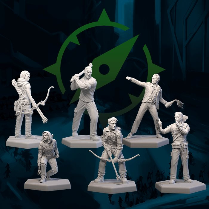 Survivalists Metal Miniatures