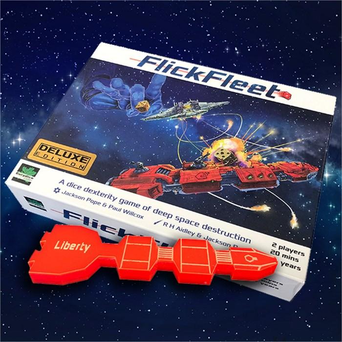FlickFleet Game - Deluxe