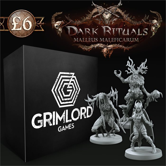 Dark Rituals Crossover Miniatures