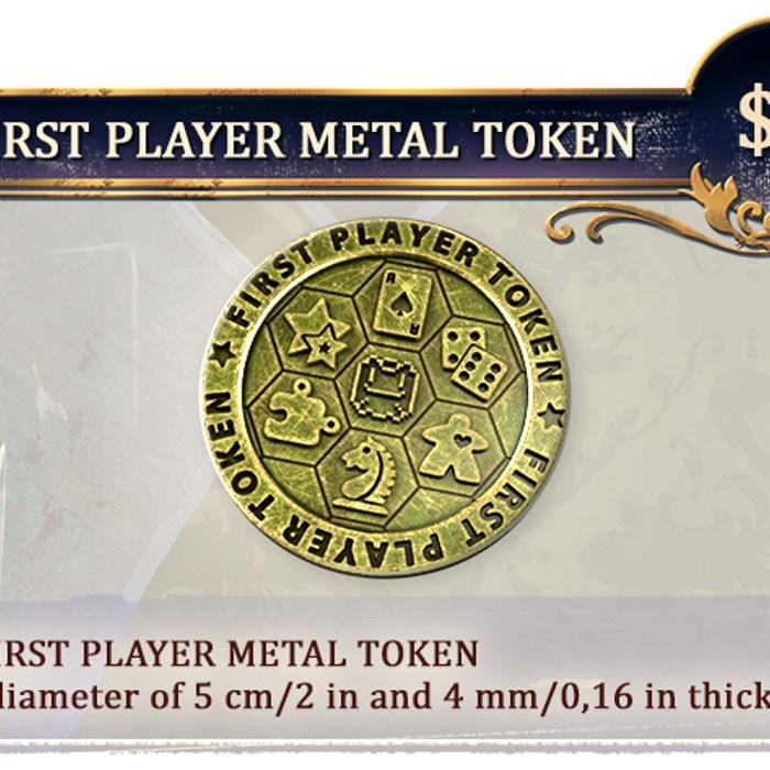 METAL FIRST PLAYER TOKEN