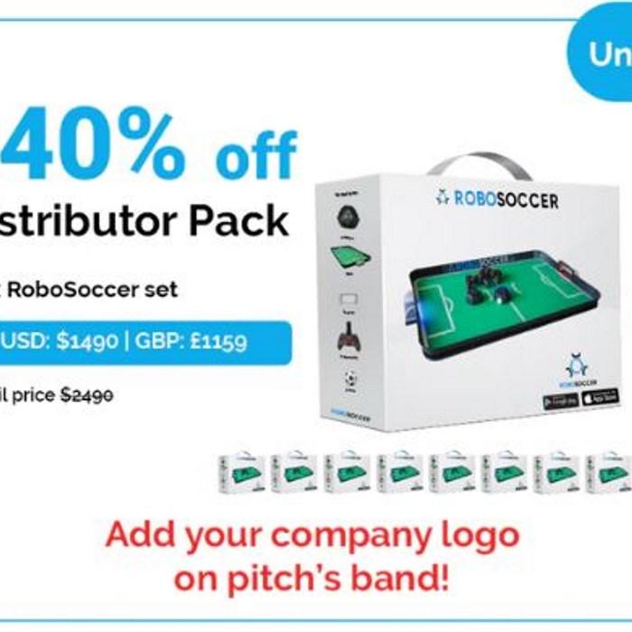 Distributor Pack   10x RoboSoccer set