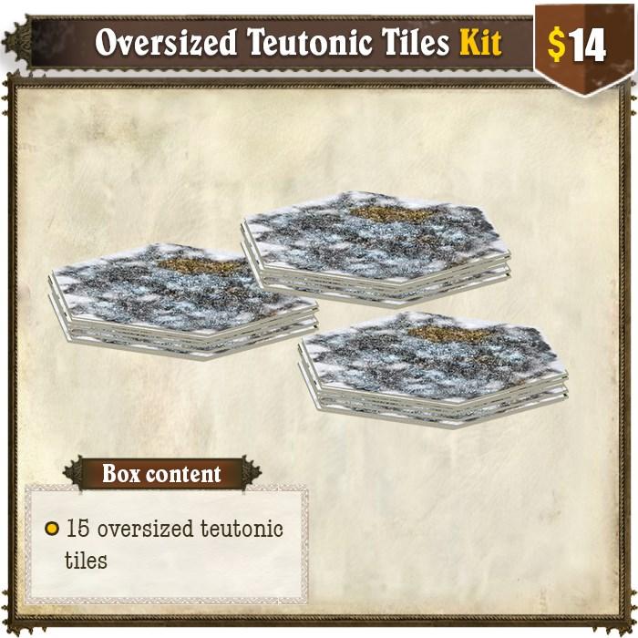 Oversized Teutonic Tiles Kit