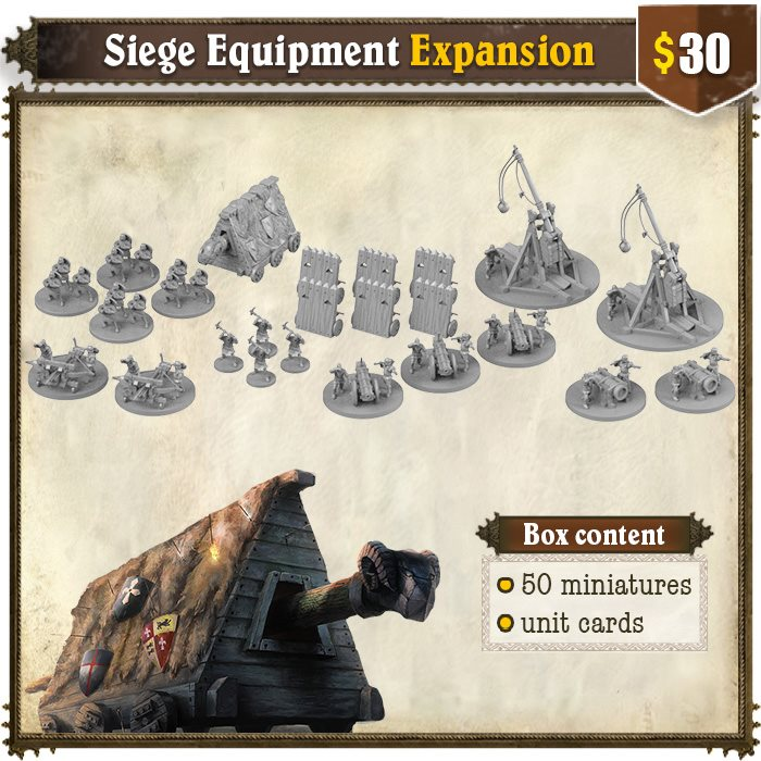 Siege Equipment Expansion