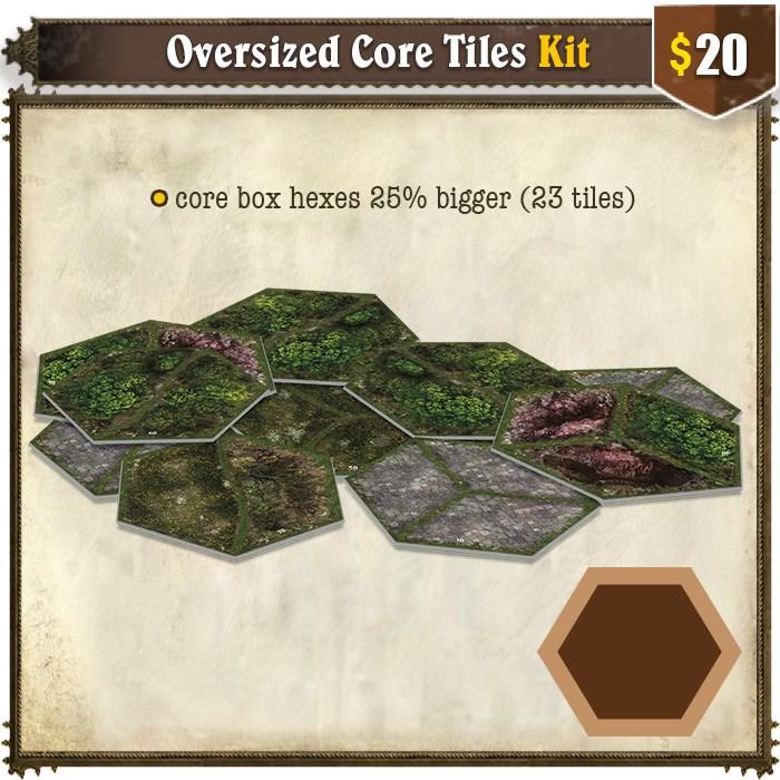 Oversized Core Tiles Kit