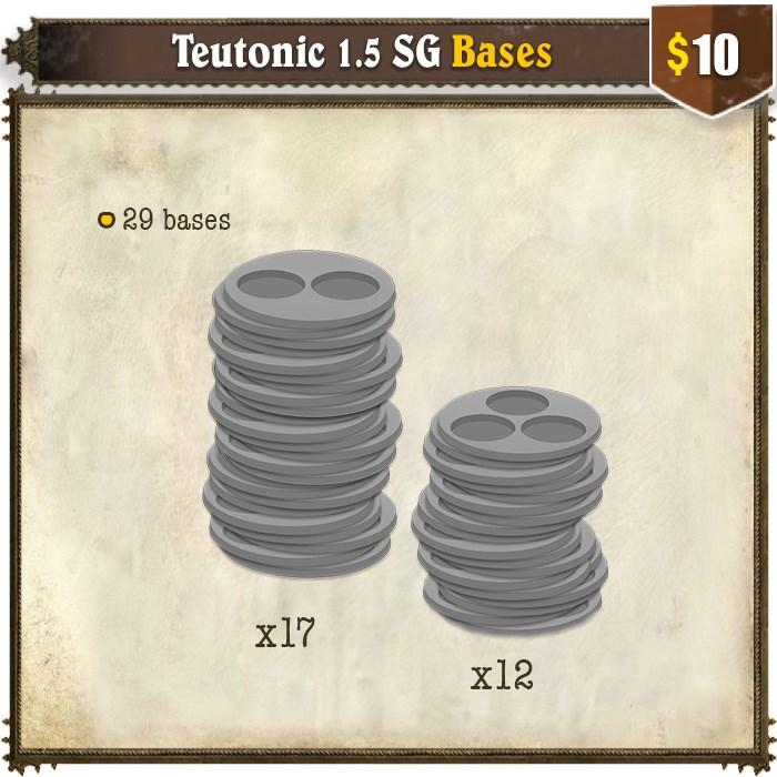 Teutonic 1.5 SG Bases