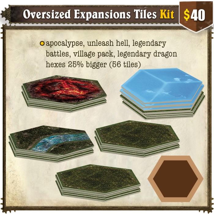 Oversized Expansions Tiles Kit