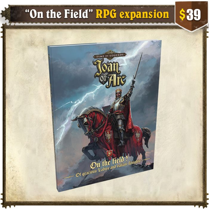 """""""On the field!"""" RPG Expansion"""