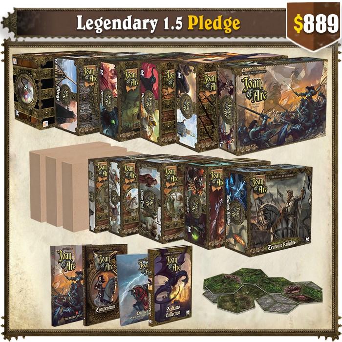 Legendary 1.5 pledge