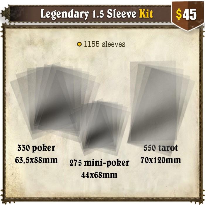 Legendary 1.5 Sleeve Kit