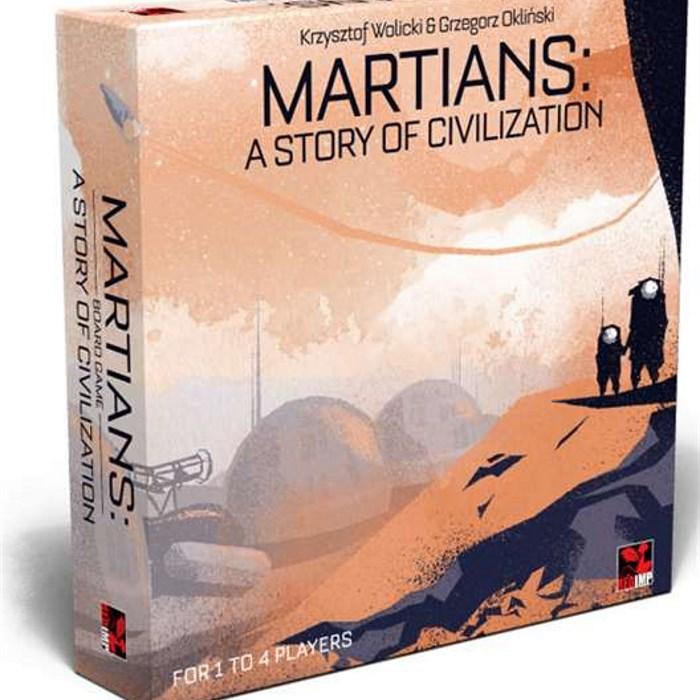 MARTIANS: A STORY OF CIVILIZATION - RETAILER EDITION