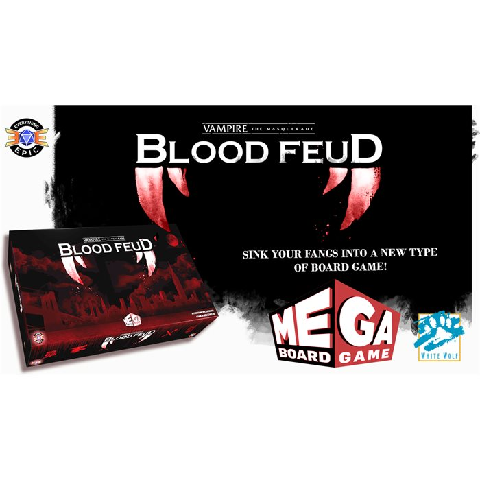 Vampire: the Masquerade - Blood Feud - COLLECTORS EDITION (Not at Retail)