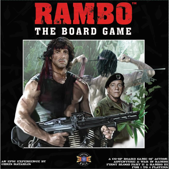 Rambo the Board Game Core (Late Pledge / Pre-Order)