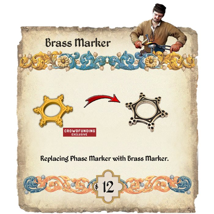 Brass phase marker replacement